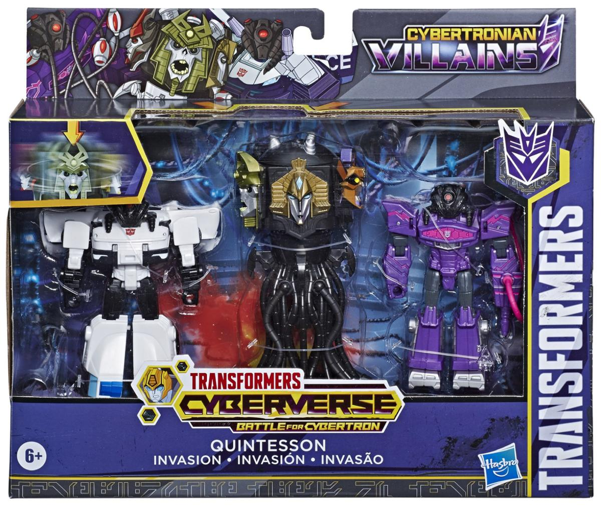 Transformers 1 Step Changer Quintesson Invasion Action Figure
