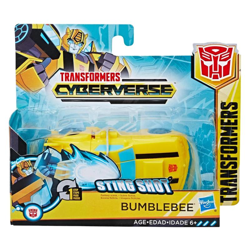 Transformers-Red-One-Step Changers BumbleBee