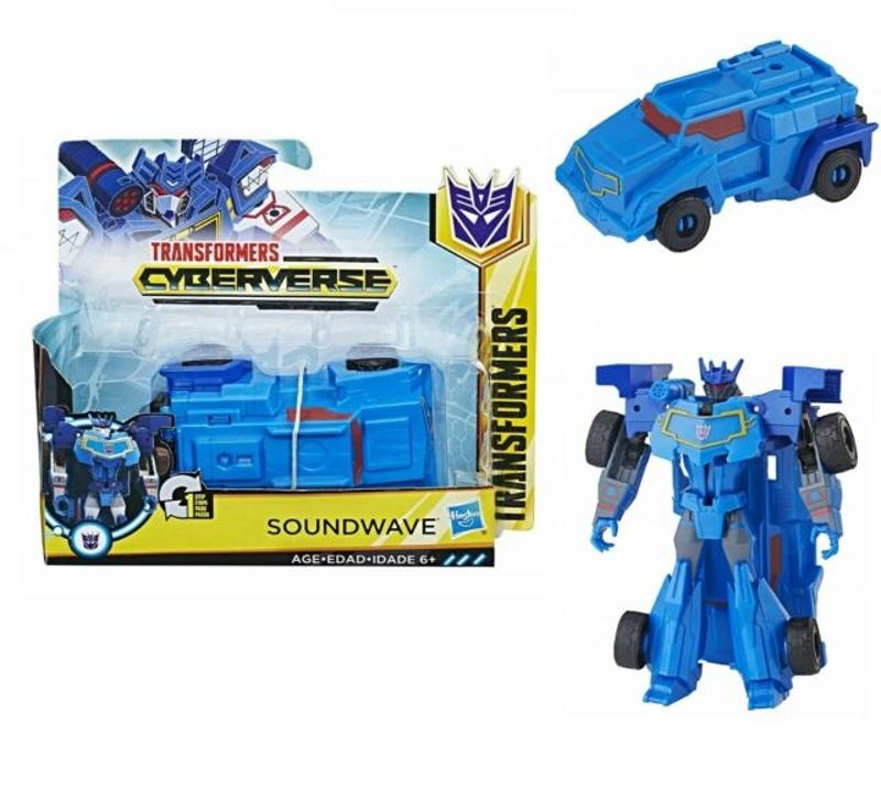 Transformers-Red-One-Step Changers Soundwave