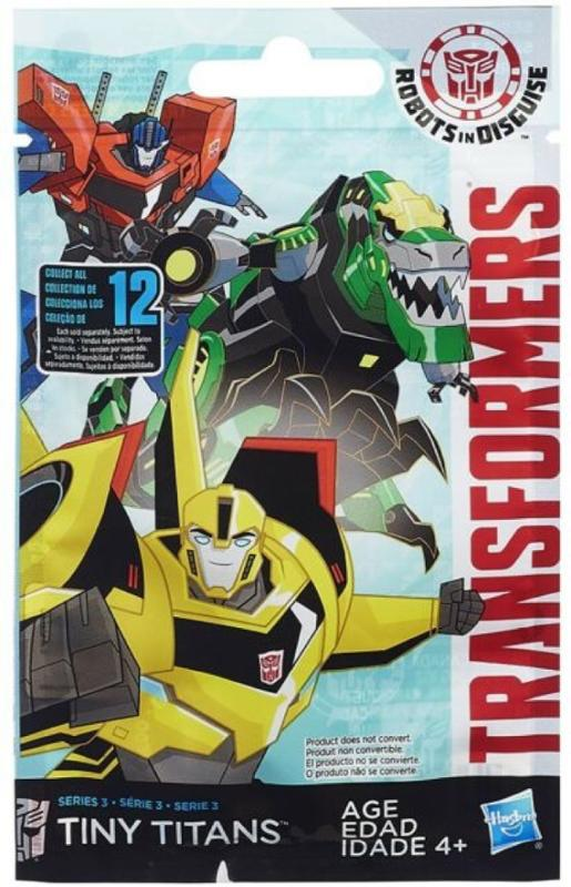 Transformers Robots in Disguise Tiny Titans Mystery Pack Series 6