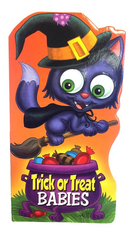 Trick or Treat Babies Board Book