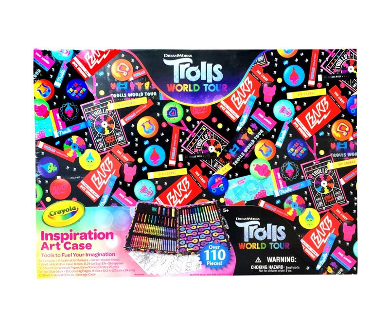 Trolls World Tour Inspiration Art Set