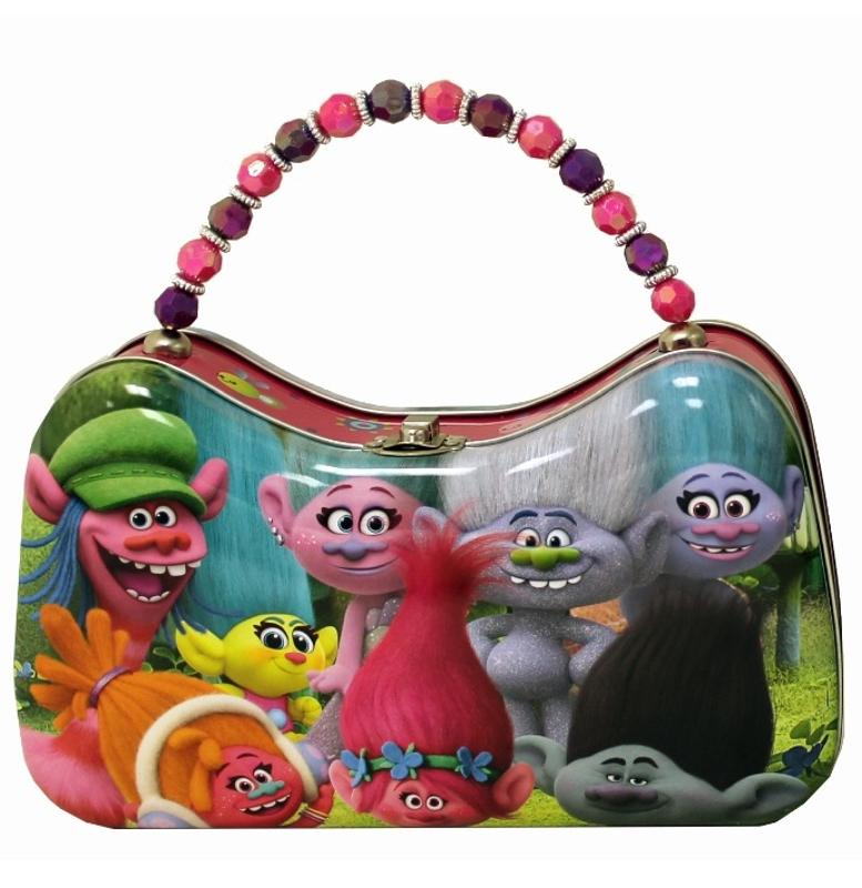 Troll Characters Scoop Tin Purse