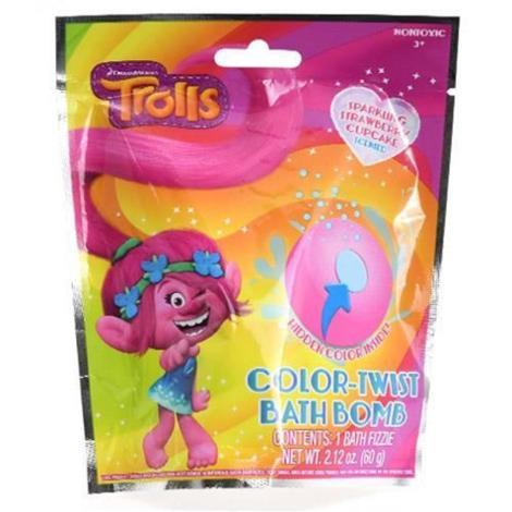 Trolls Color Twist Bath Bomb
