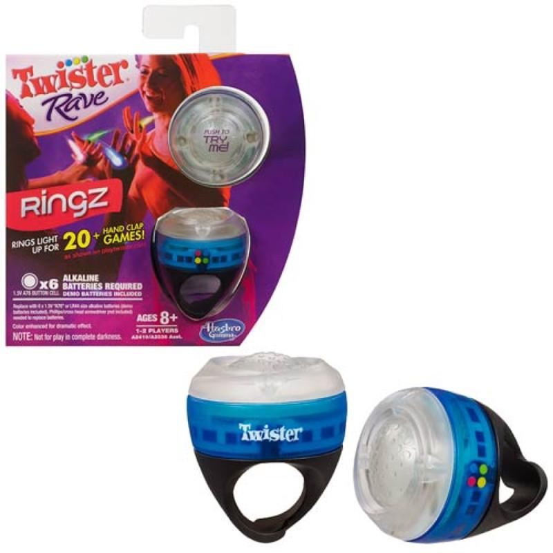 Twister Rave Ring
