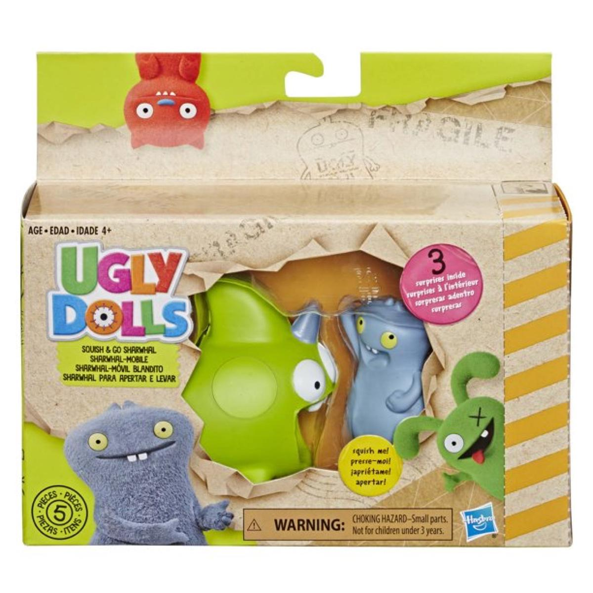 UglyDolls Babo and Squish and Go Sharwhal