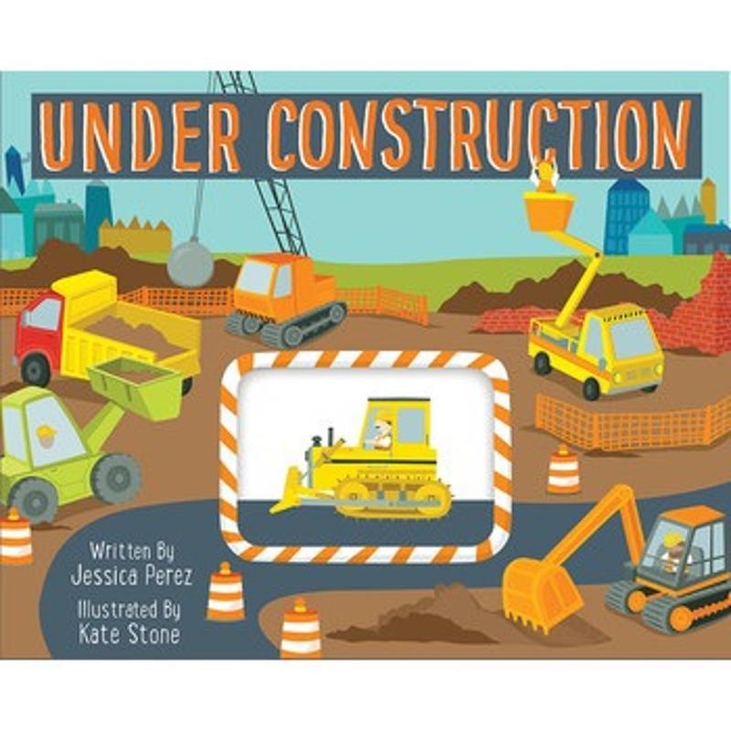 Under Construction Board Book
