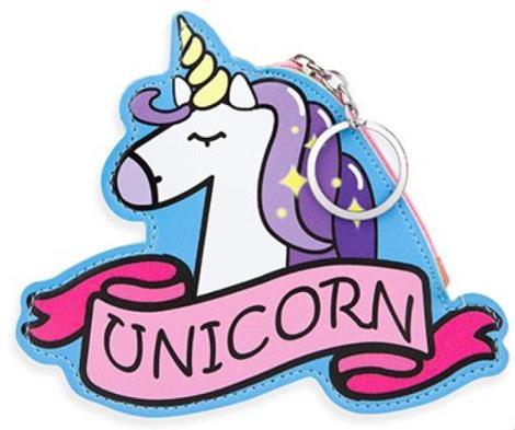 Unicorn Zippered Purse