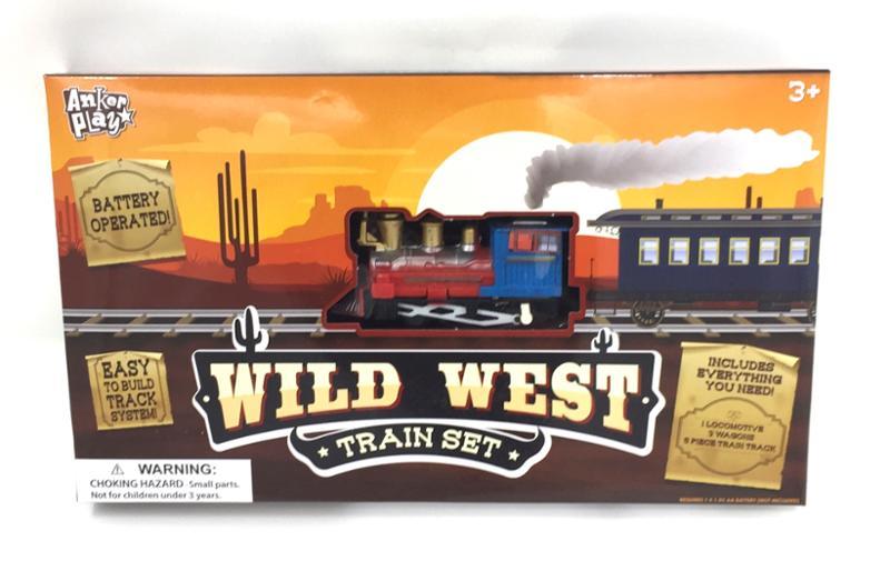 Western Wild West Train Set
