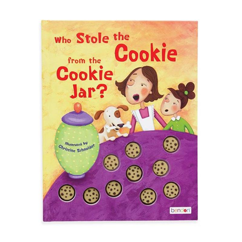 Who Stole the Cookie from the Cookie Jar 3D Children's Book