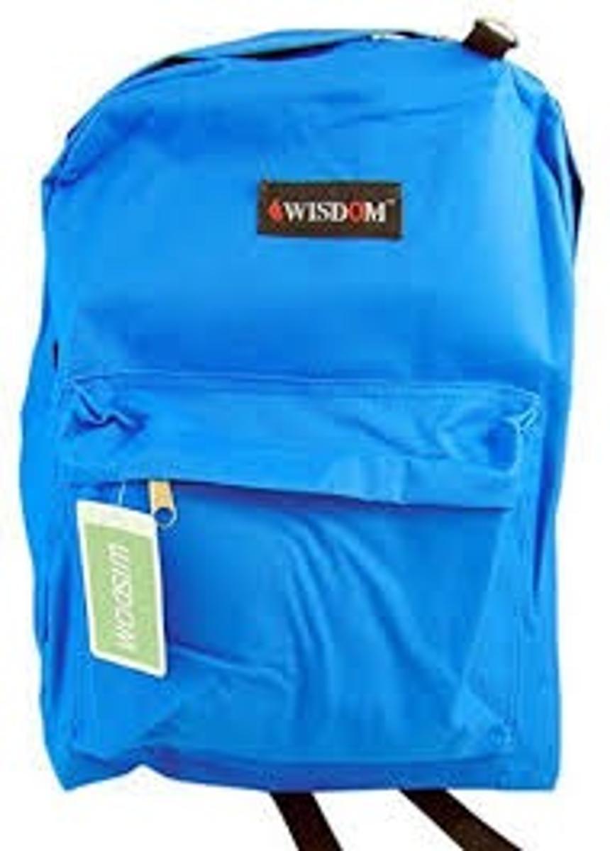 Classic Blue Backpack