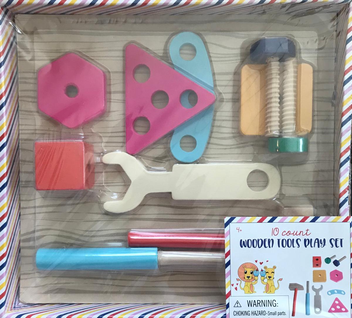 Wooden 10 PieceTools Play Set