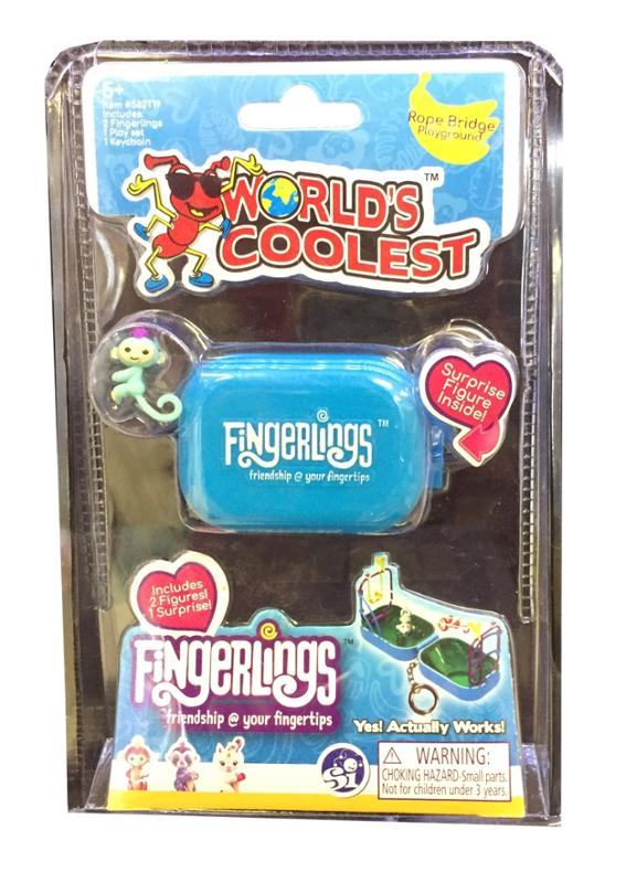 Worlds Coolest Fingerlings Playset Blue