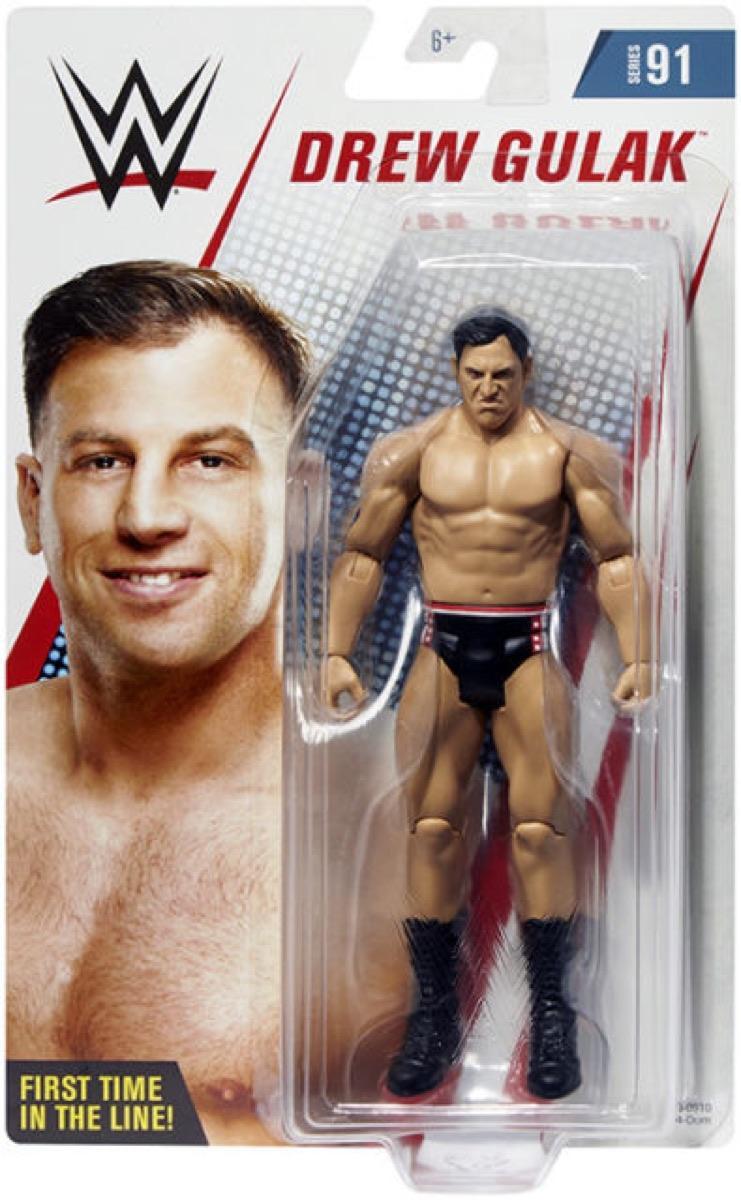 WWE Series 91 Action Figure Drew Gulak