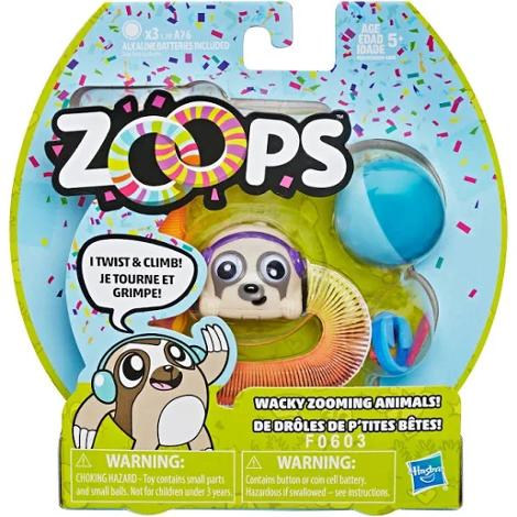 Zoops Electronic Twisting Zooming Climbing Toy Disco Sloth
