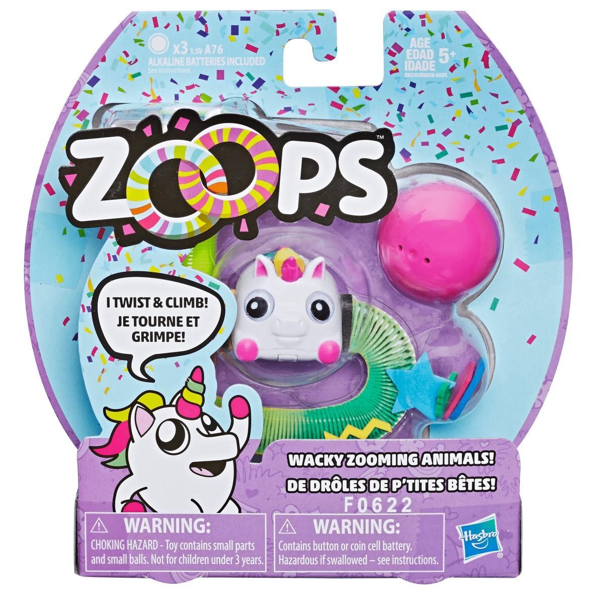 Zoops Electronic Twisting Zooming Climbing Toy Rainbow Unicorn Pet